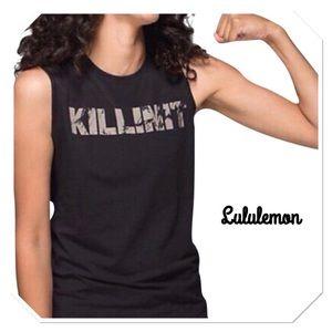 """Tops - Lululemon """"Killin It"""" Muscle Tank"""